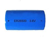 9Ah ER26500 Size C Lithium Battery