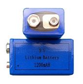 1200mAh CR9V Lithium Primary Battery 3V